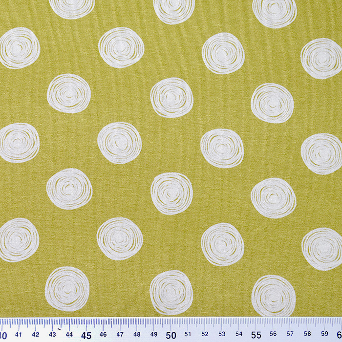 Jersey, viskoza, pike, 19711-037, rumena