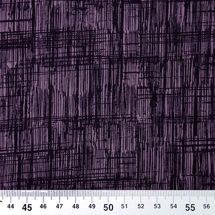 Jersey, viskoza, abstraktni, 19713-013, vijola