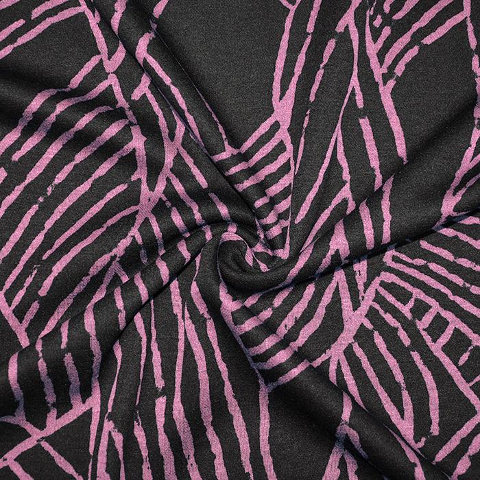Pletivo, geometrijski, 19710-013, roza