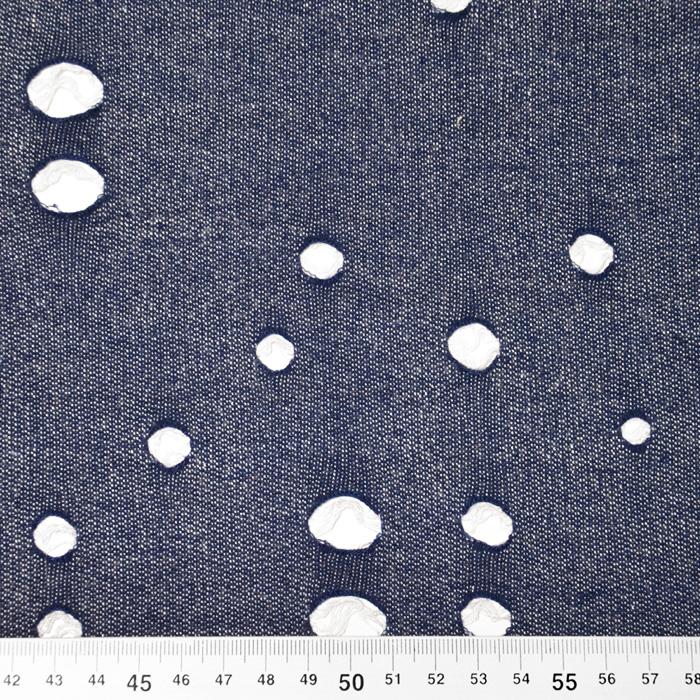 Prevešanka, raztrgan jeans, 19720-006, modra