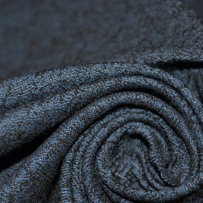 Tkanina, elastična, žakard, 19723-006, modra