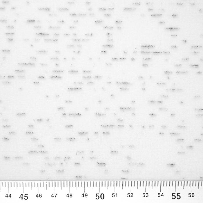Pliš bombažen, melanž, 19810-051, bela