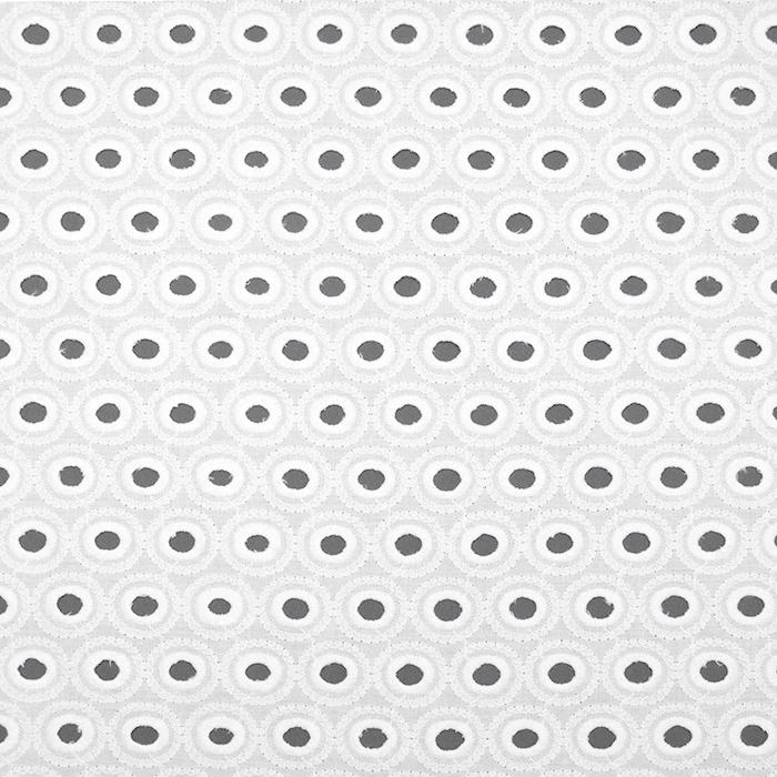 Bombaž, rišelje, krogci, 19812-651, smetana