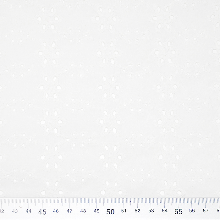 Pamuk, rišelje, cvjetni, 19812-751, boja vrhnja