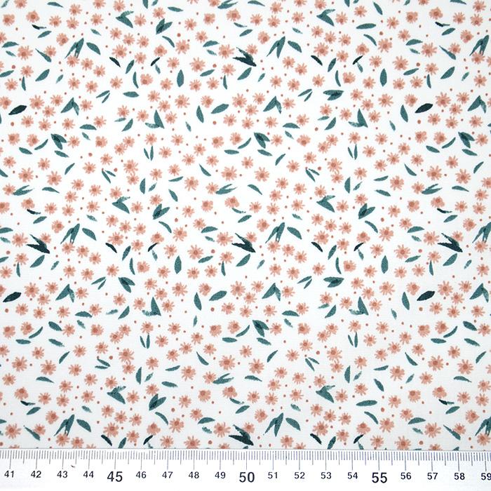 Bombaž, poplin, cvetlični, 19820-031