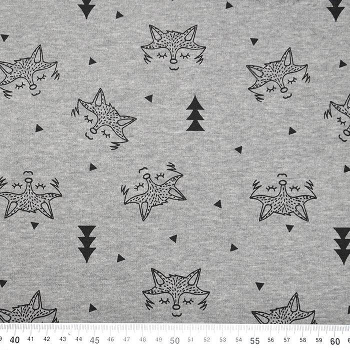 Pletivo, obojestransko, živalski, 19824-665, siva