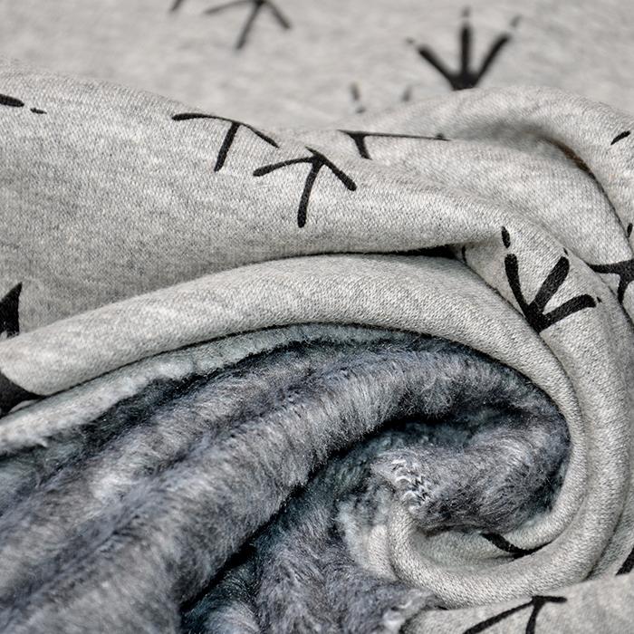 Pletivo, obojestransko, živalski, 19824-865, siva