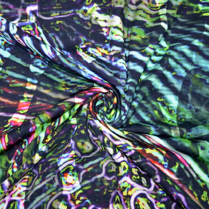 Jersey, bombaž, digital, abstraktni, 19841