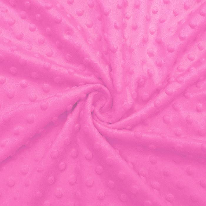 Velur coral, Minky, 19877-017, roza