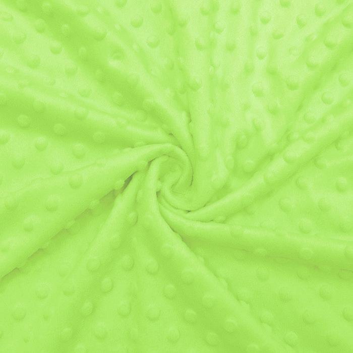 Velur coral, Minky, 19877-023, zelena
