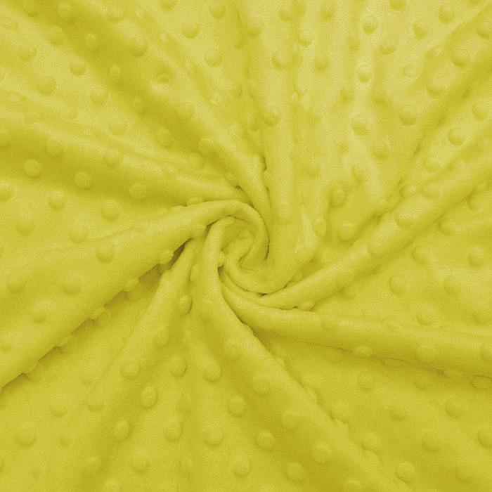 Velur coral, Minky, 19877-034, rumena