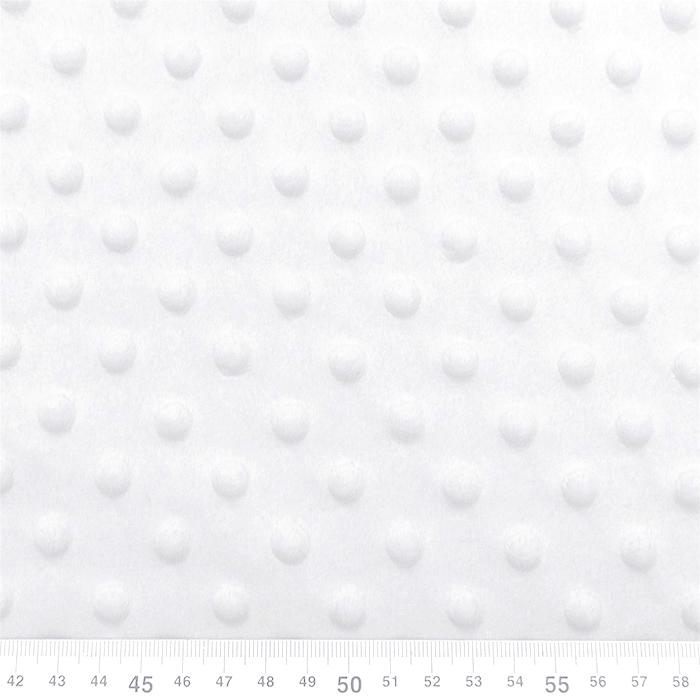Velur coral, Minky, 19877-050, bijela