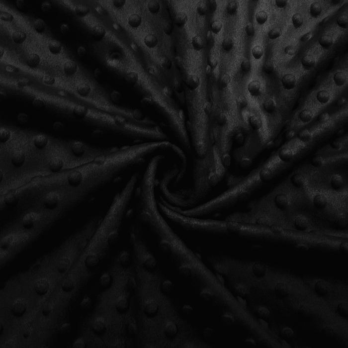 Velur coral, Minky, 19877-069, črna