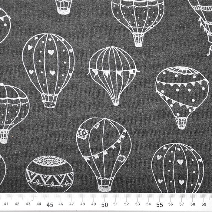 Prevešanka, kosmatena, baloni, 19913-002, siva