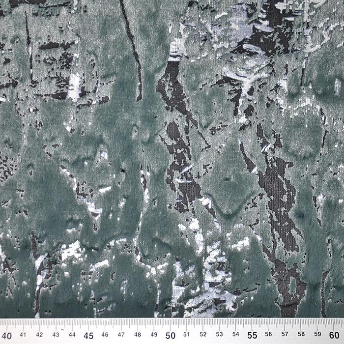Umetno krzno, abstraktni, 19884-225, zelena