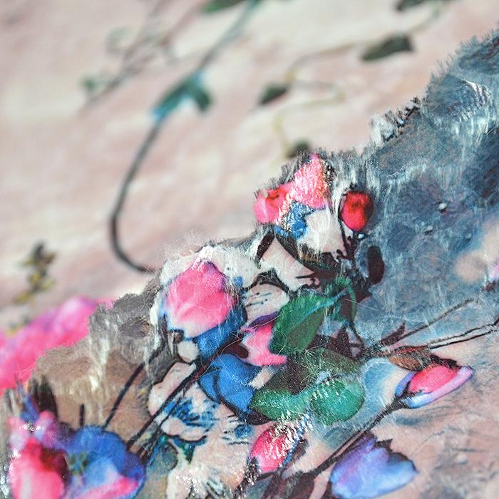 Umetno krzno, cvetlični, 19894-820