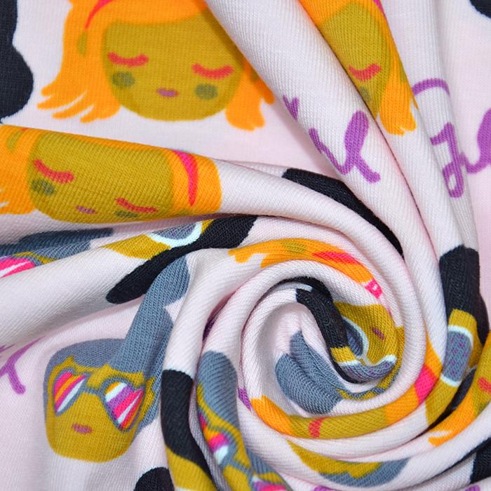 Jersey, bombaž, otroški, 19924-006, roza