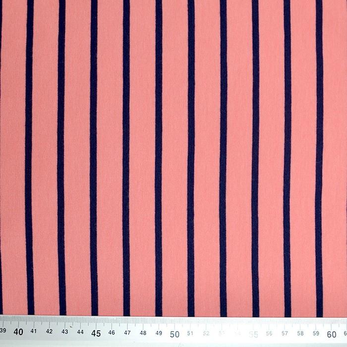 Prevešanka, črte, 19079-009, koralna
