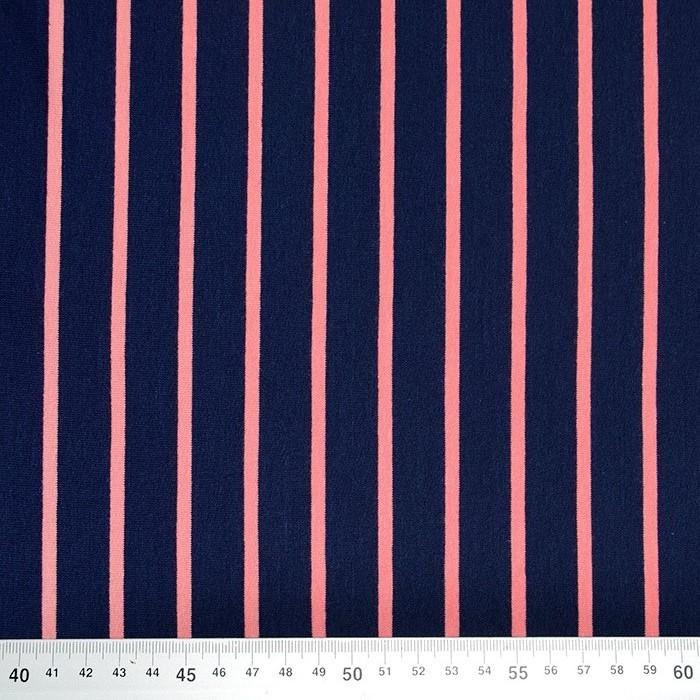 Prevešanka, črte, 19079-010, temno modra