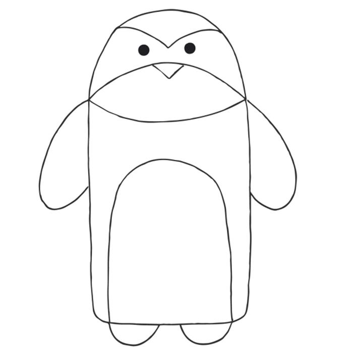Kroj, vreća za spavanje pingvin, 20051-BA5