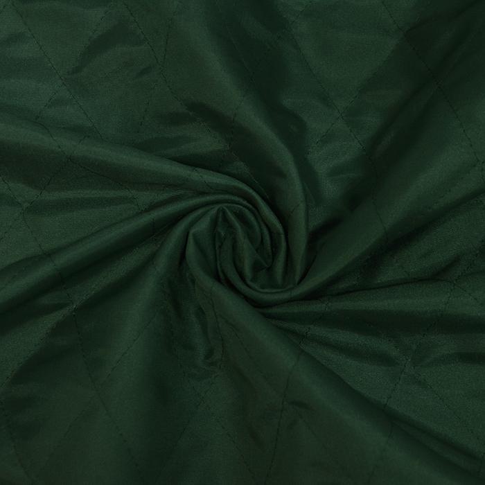Prošiven materijal, karo, 20076-03, zelena