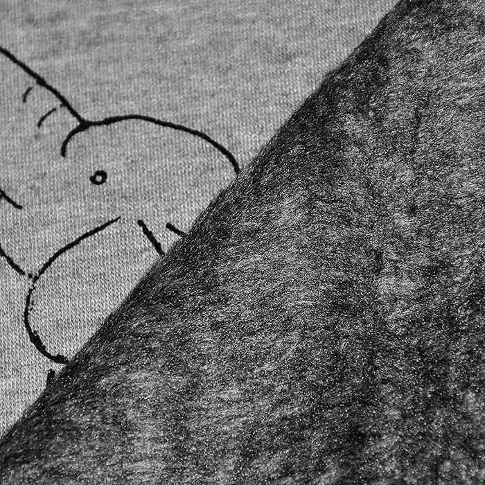 Pletivo, obojestransko, otroški, 20082-065, siva