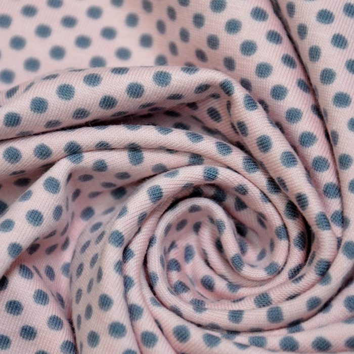 Jersey, bombaž, pike, 18216-112, roza