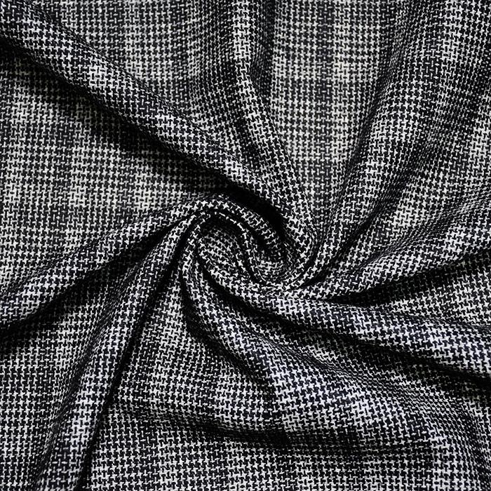 Volna, kostimska, kare, 20108-2, črno bela