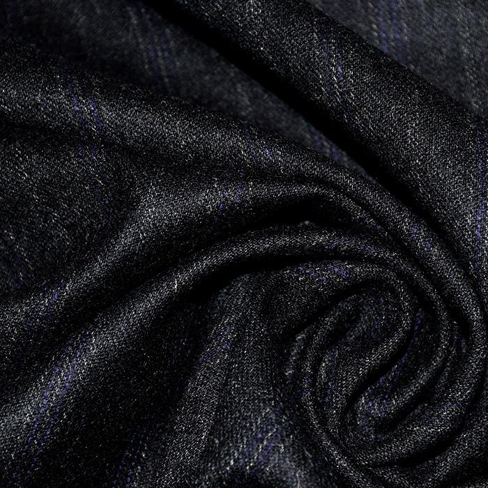 Vuna, kostimska, pruge, 20108-10, crna
