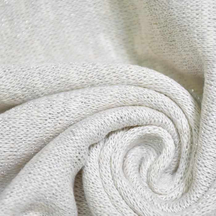 Pletivo, melanž, 20124-1, bijela