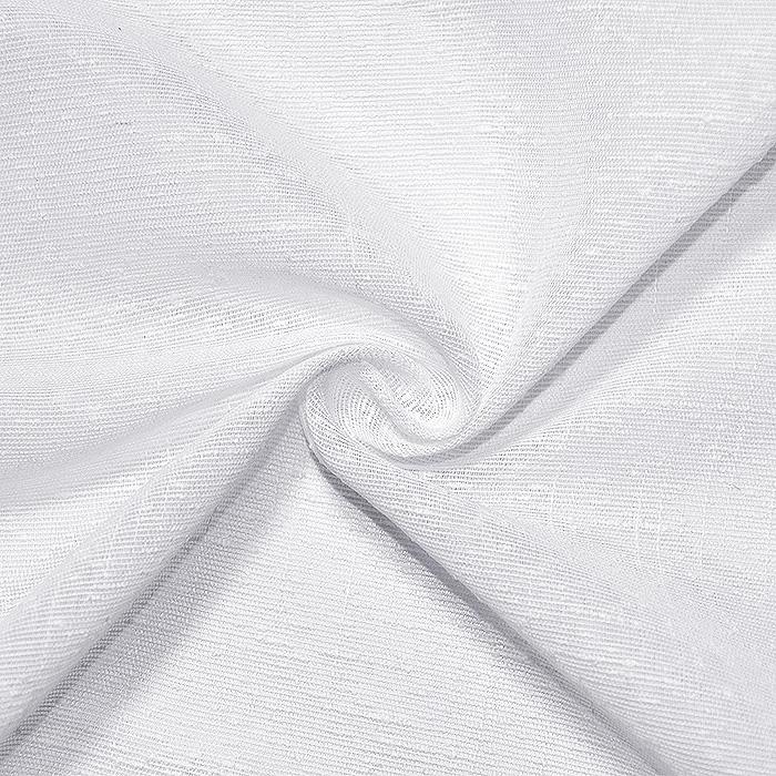Tkanina, zavese, 20132-5, bela