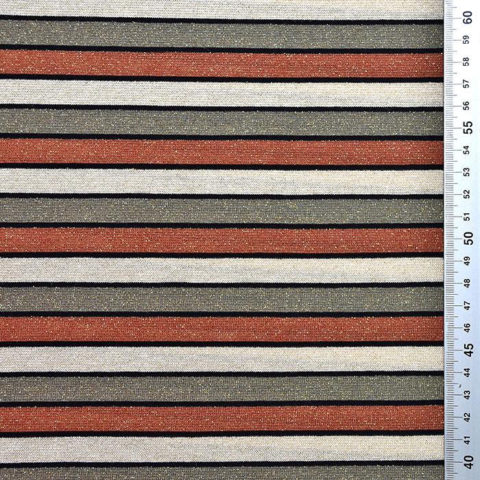 Pletivo, črte, 20143-16, bež rjava