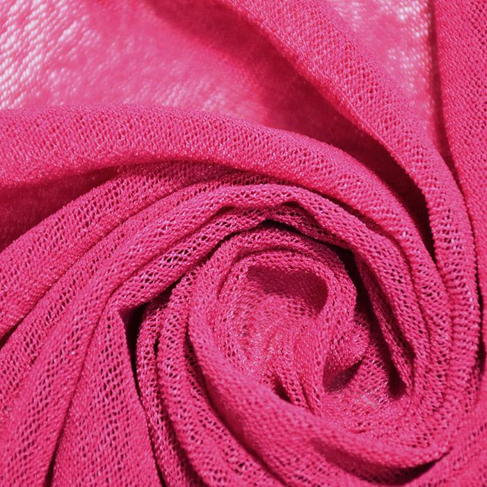 Mreža elastična, poliamid, 18999-6, roza