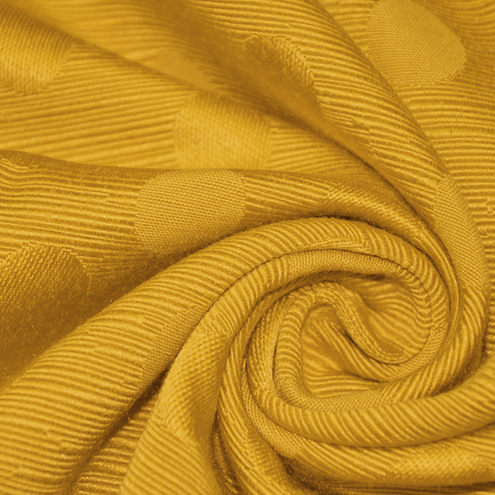 Otoman, žakard, 4146-307, zlato oranžna