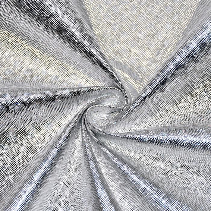 Umetno usnje Hologram, 19388-523, srebrna