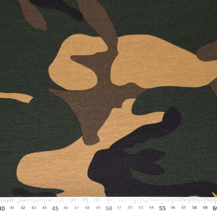 Jersey, bombaž, kamuflažni, 15104-028