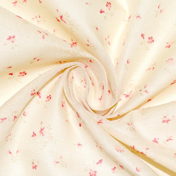 Pamuk, tanak, cvjetni, 2650-126, ružičasta