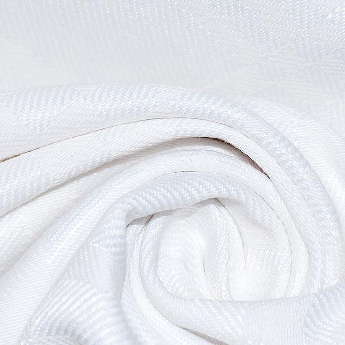 Damast, geometrijski, 20213-1, bijela