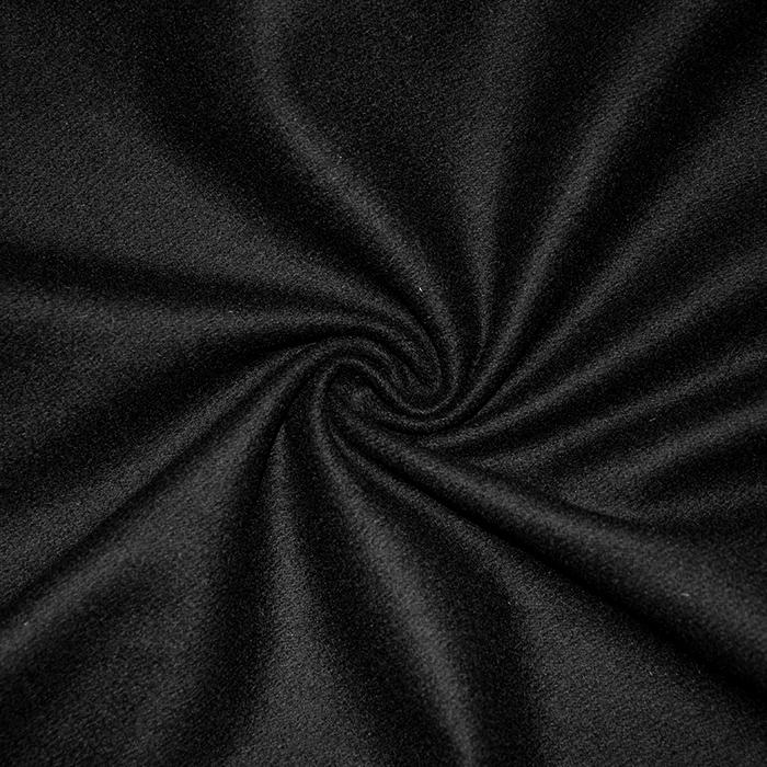 Vuna za kapute, 18131-1, crna