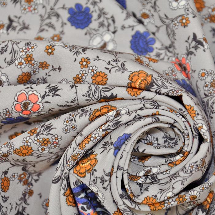 Tkanina, tanjša, cvetlični, 18071-15