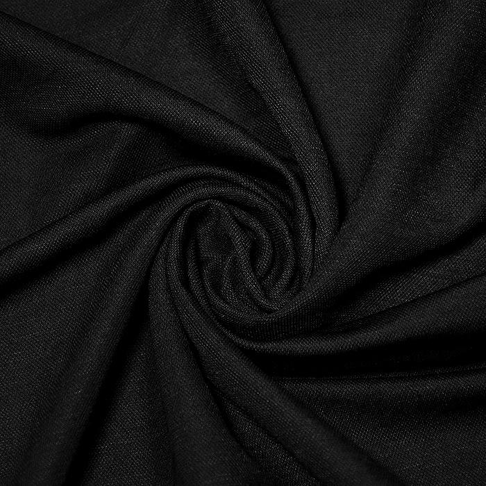Pletivo tanjše, viskoza, 20226-069, črna