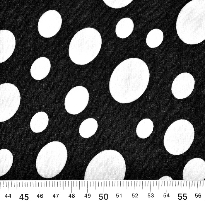 Jersey, viskoza, pike, 20231-969, črna