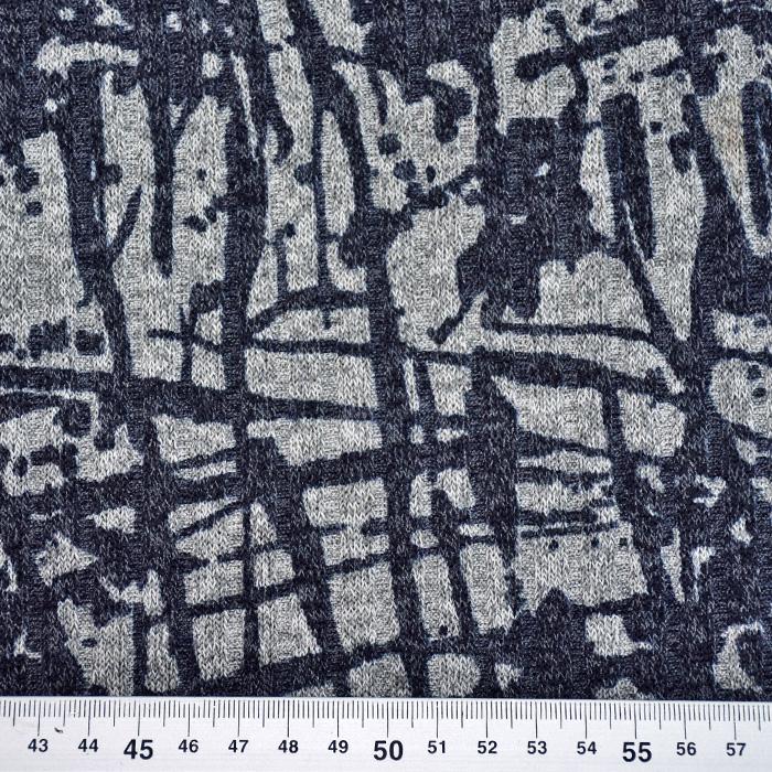 Pletivo, melanž, 20236-208, temno modra