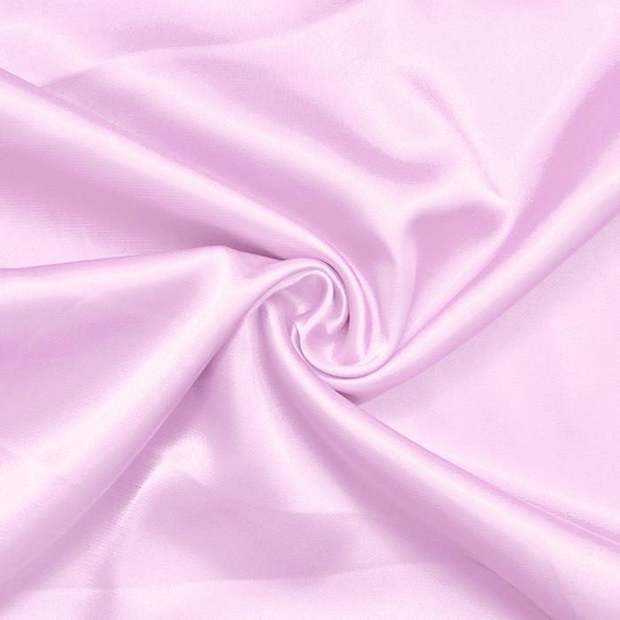 Saten, poliester, 10804, svetlo roza