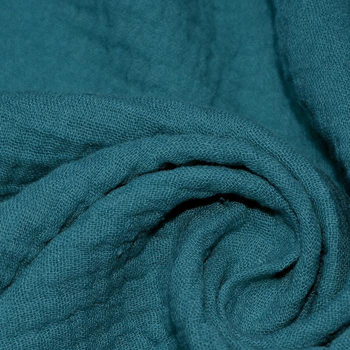 Tetra tkanina, dvojna, 18746-024, petrolej