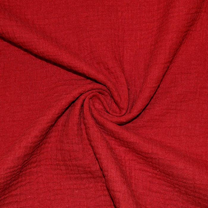 Tetra tkanina, dvojna, 18746-020, rdeča