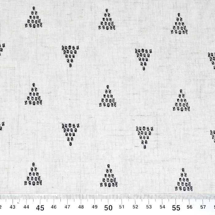 Lan, viskoza, geometrijski, 20390-001, bež