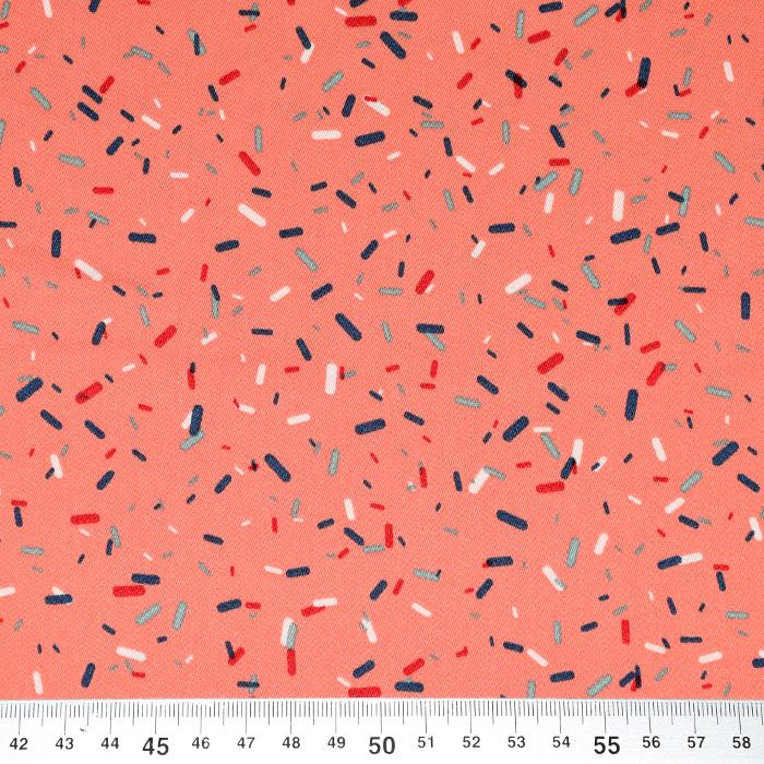 Tkanina, tanjša, tisk, 20398-003
