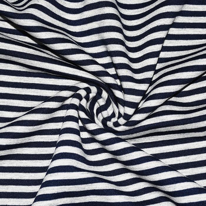 Prevešanka, črte, 20410-002, temno modra