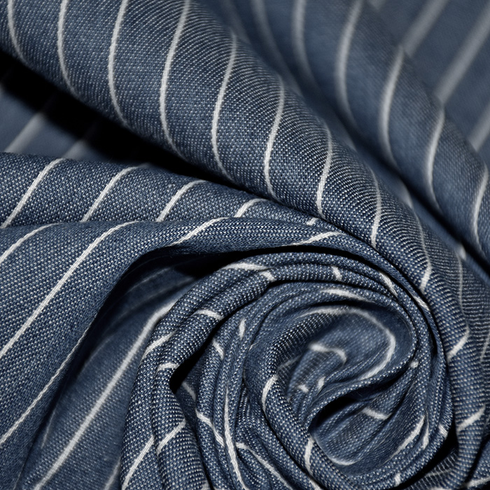Jeans, srajčni, črte, 20531-008, temno modra